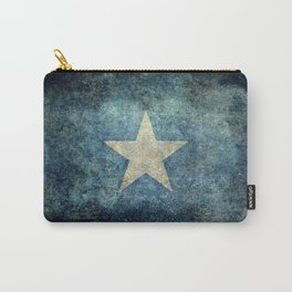 Flag of Somalia - Super Grunge version Carry-All Pouch