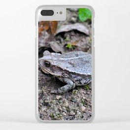 Croak Clear iPhone Case