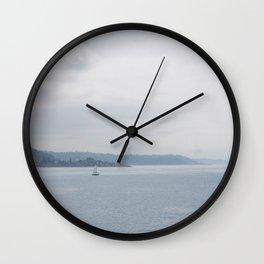 Puget Sound 1 Wall Clock