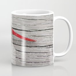 Dragon-Fly with red tail Illustration Coffee Mug