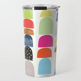Semi Circles Geos Travel Mug
