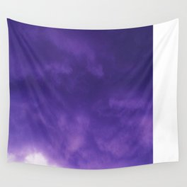PUFFS OF PURPLE Wall Tapestry