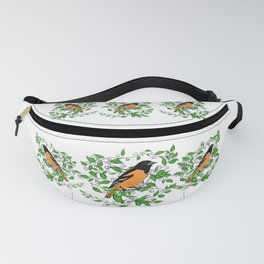 Oriole Song Bird Fanny Pack