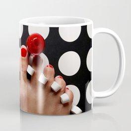 Rosy Toes Coffee Mug