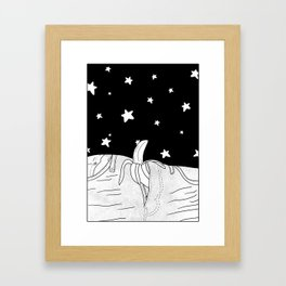 She will take you to the stars! Framed Art Print