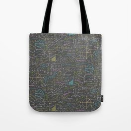 Math Lessons Tote Bag