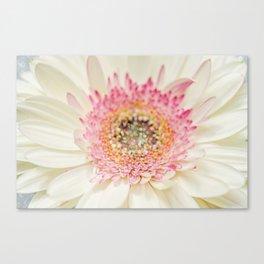 Little Girl Room Decor, Wall Art Print Girls, Sparkles, White Flower, Room Decor, Glitter Canvas Print