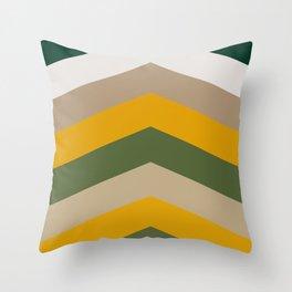 Moraccon chevron Throw Pillow