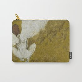 The Gold  Angel Carry-All Pouch