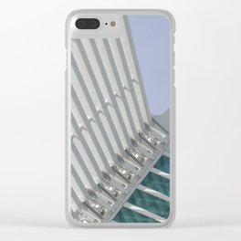 C A L A T R A V A   architect   Milwaukee Clear iPhone Case