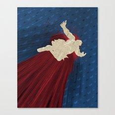 When Hondas Fly (Homage To Street Fighter's E. Honda) Canvas Print