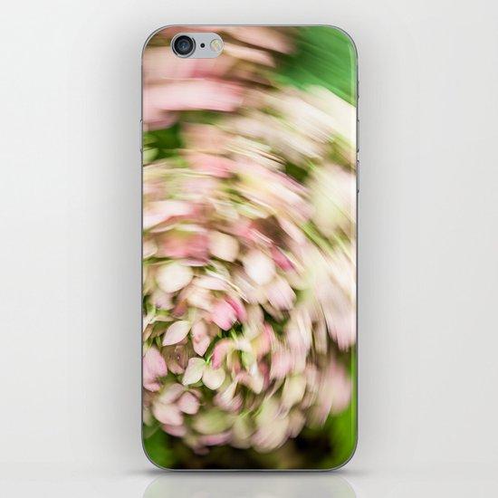 Hydrangea Abstract iPhone & iPod Skin