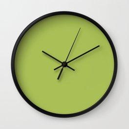 Green Celery Wall Clock