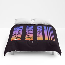 Powell Park Sunset Comforters