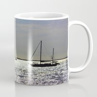 sail Mugs featuring Sail by Ashley Secoges