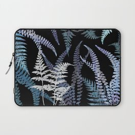 Ferns in the Still of the Night Laptop Sleeve