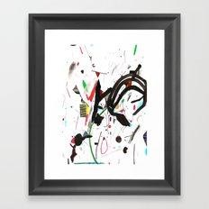 des Framed Art Print
