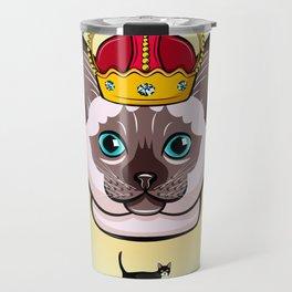 THE CAT KING Kitty Cat Travel Mug