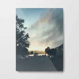 Merced Sunset Metal Print