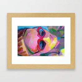 Antidisturbios Framed Art Print