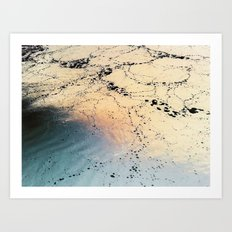 Copper River Art Print