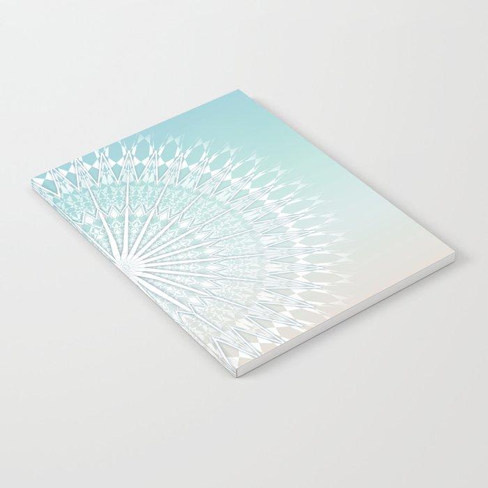 Beach Style Mandala Notebook