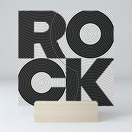 ROCK GROOVE Mini Art Print