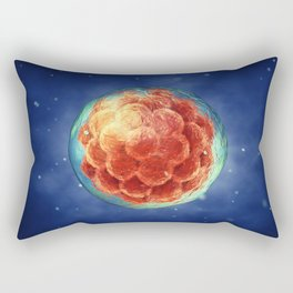 Embryogenesis Rectangular Pillow