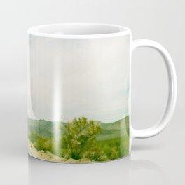 Drive through Joshua Tree Coffee Mug