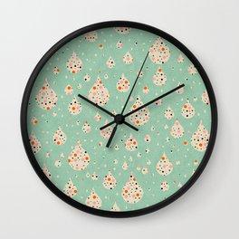 cute drops Wall Clock
