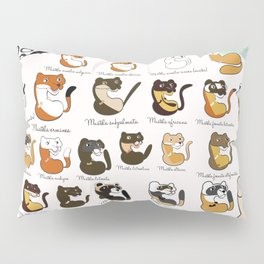 Weasels and polecats (new version) (c) 2017 Pillow Sham