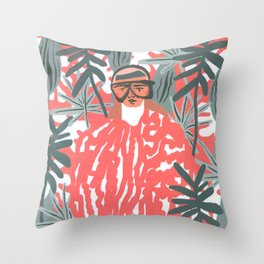 Goo-chi One Throw Pillow