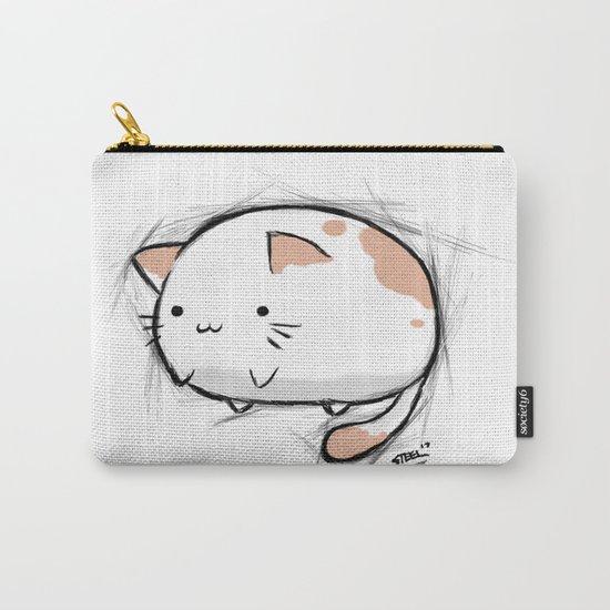 Fat Kawaii Cat Carry-All Pouch