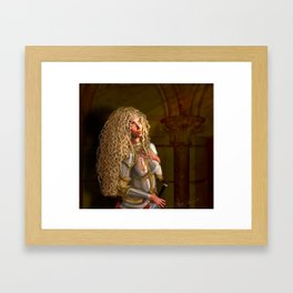 Joan of Arc: Living the Controversial Truth Framed Art Print