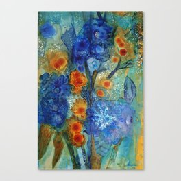 Over Bloom Canvas Print