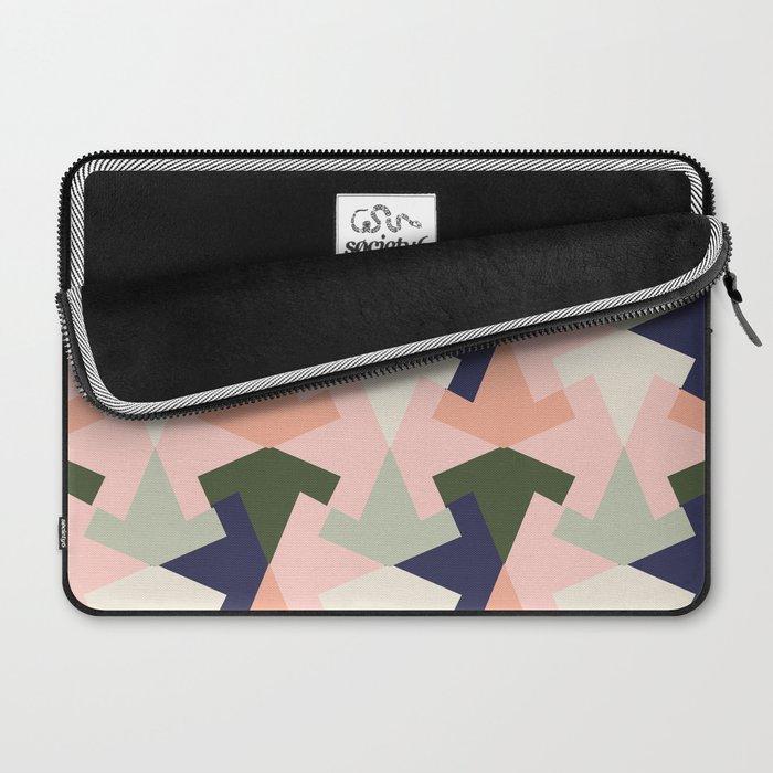 Retro pattern geometric Laptop Sleeve