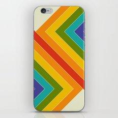 Rainbow Bend iPhone Skin