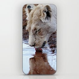 Not just a puddle but survival iPhone Skin