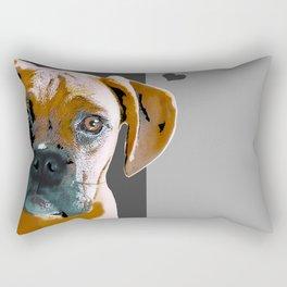 Boxer lovers Rectangular Pillow