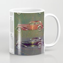 1935 Esquire New Year Car Preview No. 1: Nash, Olds, Studebaker, Packard, REO, Plymouth, Terraplane Coffee Mug