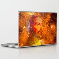 jesus Laptop & iPad Skins featuring Jesus by Saundra Myles