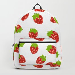 STRAWBERRY FRUIT FOOD PATTERN Backpack