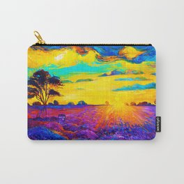 Tardis Art Starry Tree Carry-All Pouch