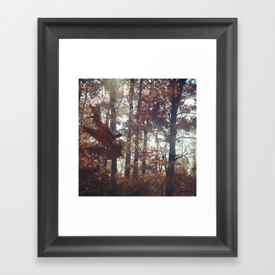 Fall Into You Framed Art Print