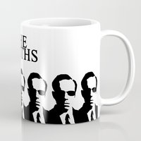 the smiths Mugs featuring The Smiths by Diego Farias
