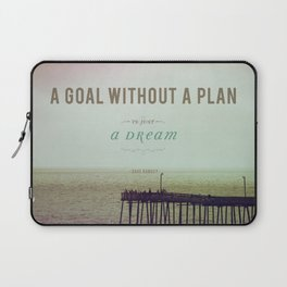 A Goal Without A Plan Laptop Sleeve
