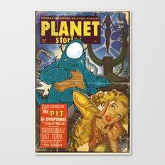 URBNPOP PLANET STORIES Canvas Print