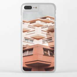 Strange architecture Clear iPhone Case