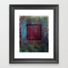 a window Framed Art Print