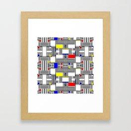 Rachna Bauhaus 7 Framed Art Print